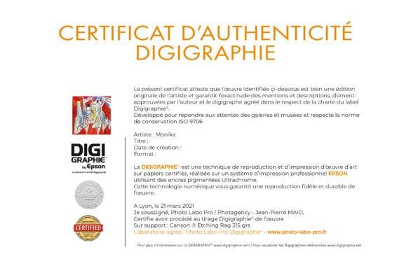 certificat d'authenticité photo-labo-pro